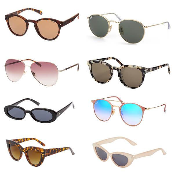 10 x mooie zonnebrillen