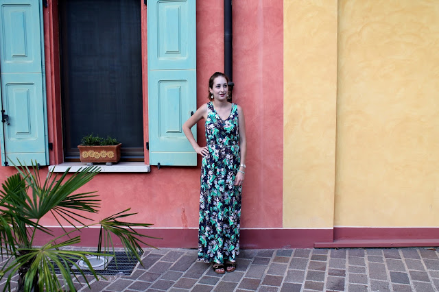 Outfit of the day | Mijn gekleurde maxi dress