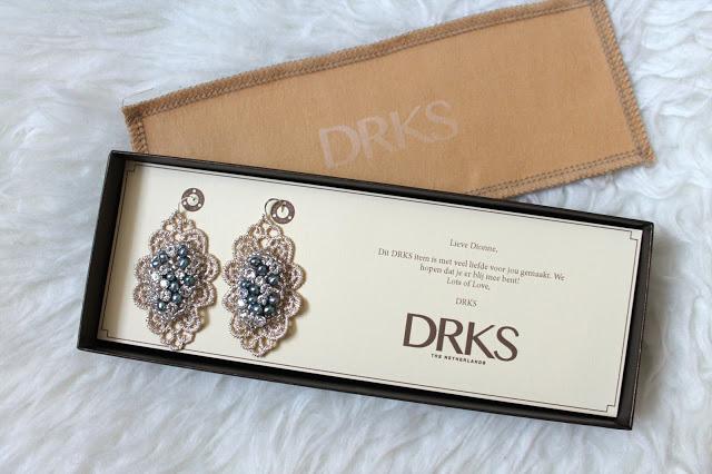 Mijn nieuwe oorbellen van DRKS