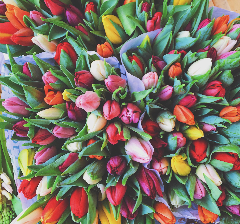 Haal het voorjaar in huis met een bos tulpen