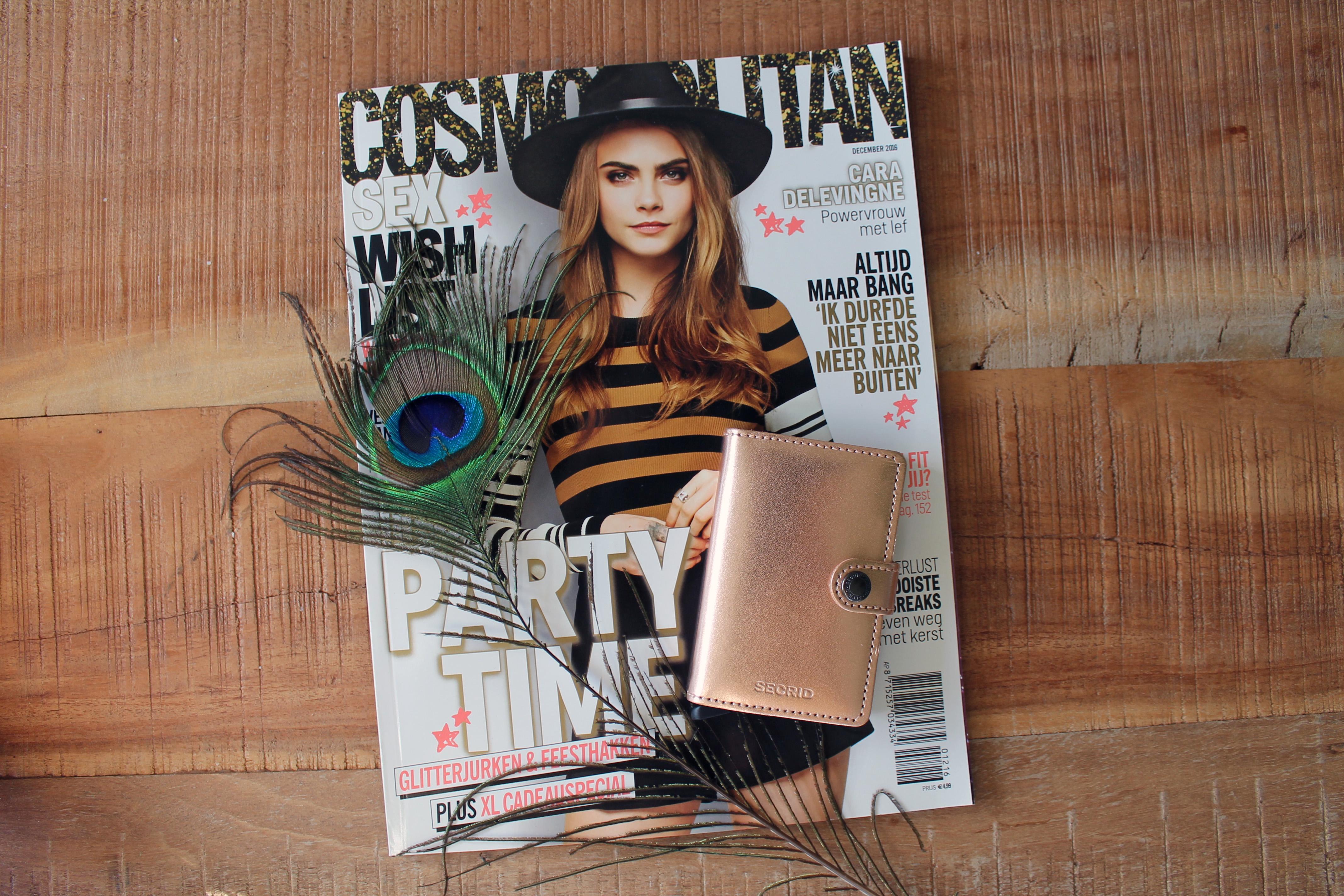 #inspiration | Secrid wallet & Pandora oorbellen