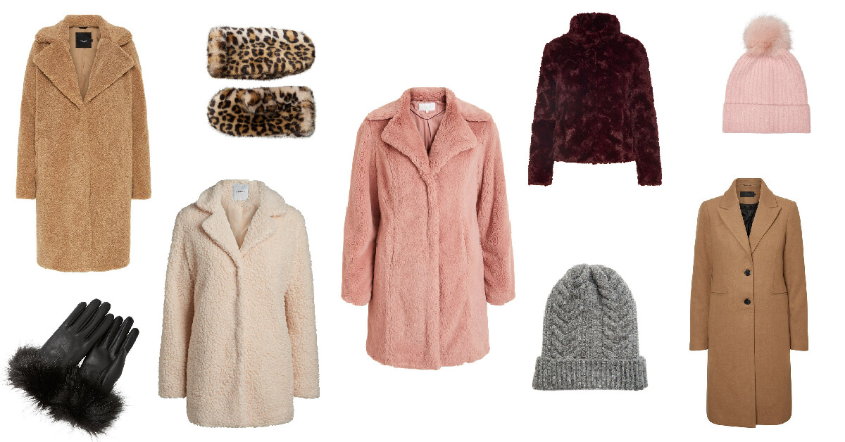 Winterjassen trends | Fluffy, teddybeer & prints