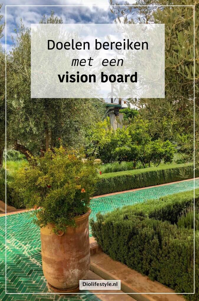 Doelen bereiken met een vision board