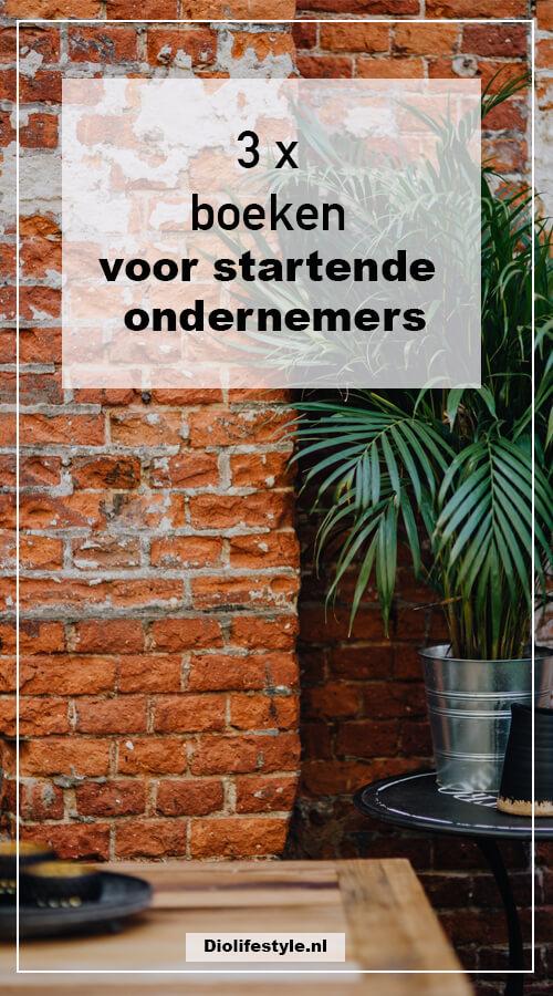 3 x boeken voor startende ondernemers