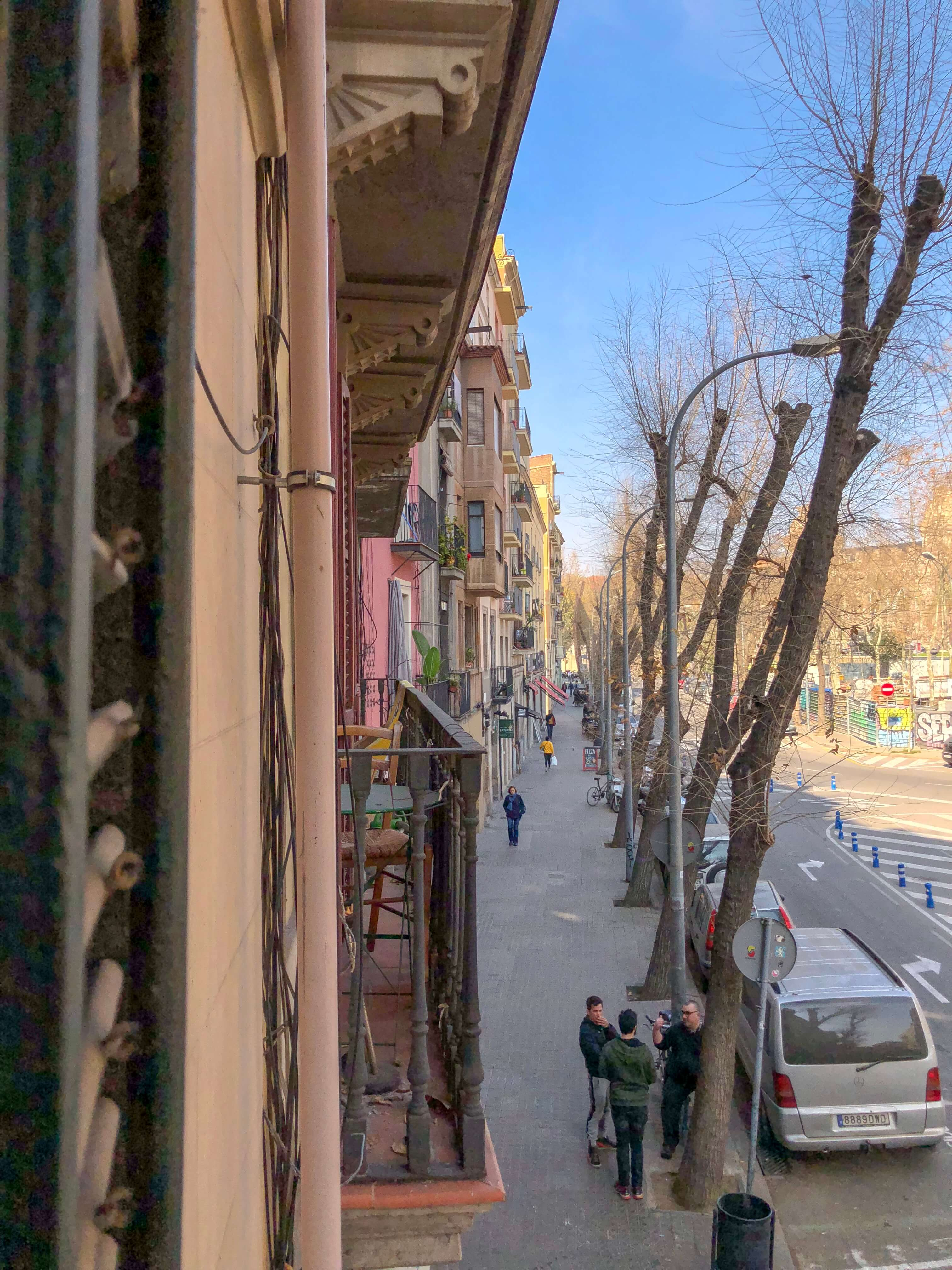De eerste week in Barcelona