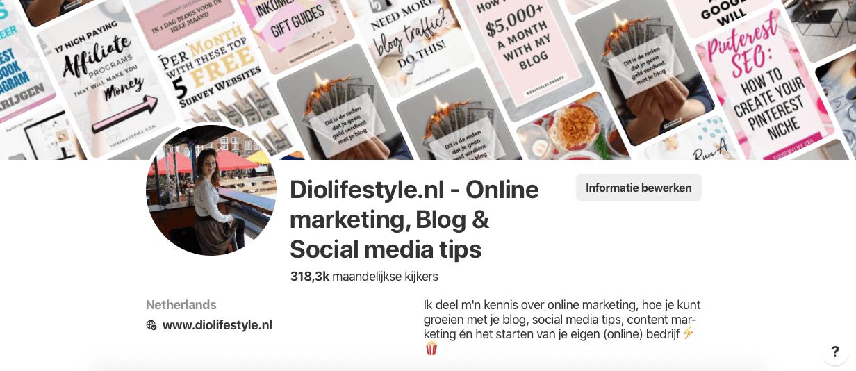 Pinterest inzetten voor je webshop