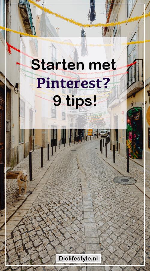Starten met Pinterest? 9 tips!