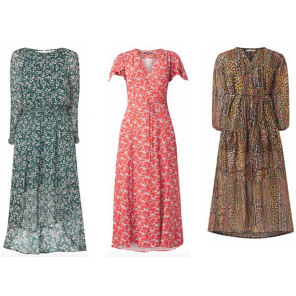 10 x lange jurken