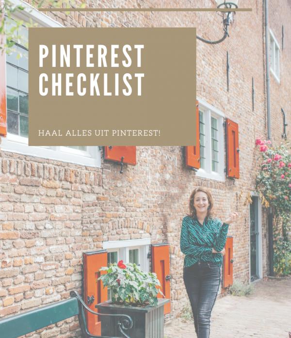 pinterest checklist 2